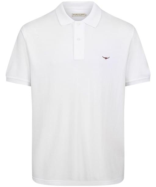 Men's R.M. Williams Rod Polo Shirt - White