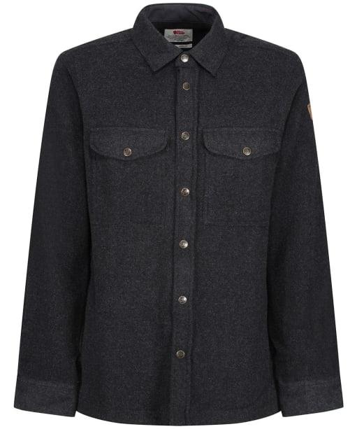 Men's Fjallraven Canada Shirt Solid - Dark Grey