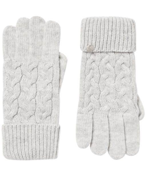 Women's Joules Elena Gloves - Light Grey