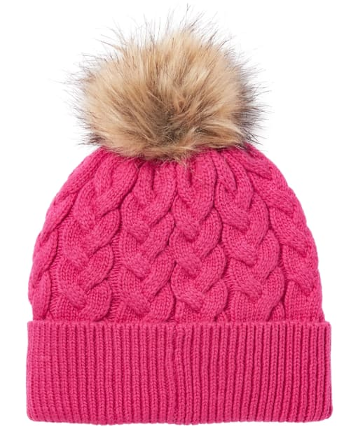 Women's Joules Elena Hat - Ruby Pink