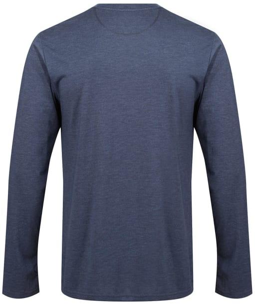 Men's Tentree TreeBlend Classic Longsleeve T-Shirt - DRESS BLUE HTHR
