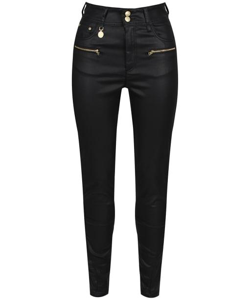 Women's Holland Cooper Coated Jodhpur Jeans - Black