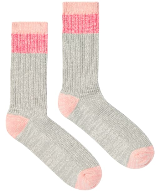 Women's Joules Mid Trussell Warm Socks - Grey