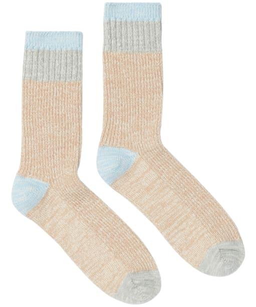 Women's Joules Mid Trussell Warm Socks - Oat