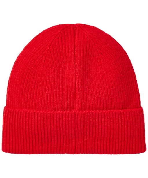 Women's Joules Shinebright Rib Knit Hat - Red Arrow