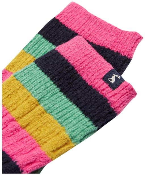 Women's Joules Cable Trussell Socks - Multi Stripe