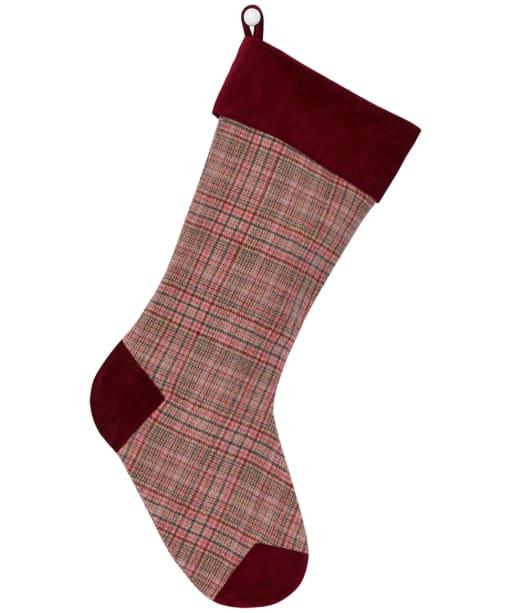 Joules Westmarch Tweed Stocking - Pink Tweed