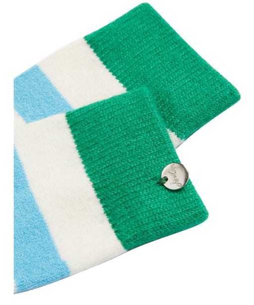 Women's Joules Striped Bed Socks - Bright Blue