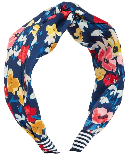 Women's Joules Aven Printed Headband - Navy Floral