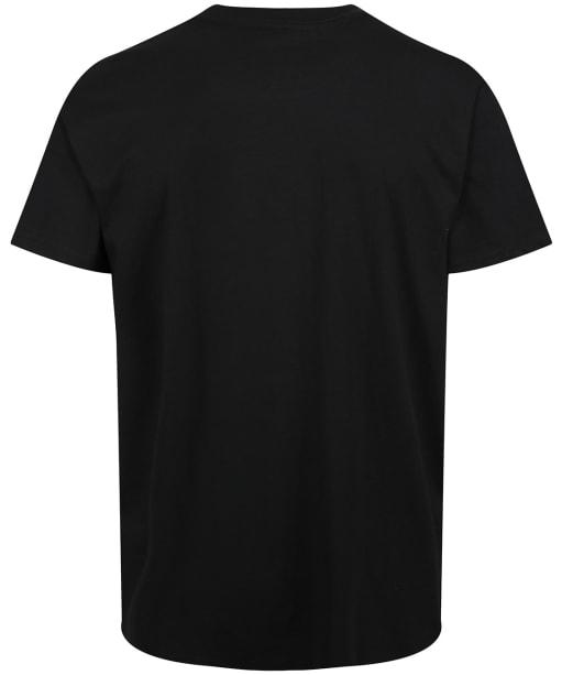 Yeti Logo Badge Short Sleeve T-Shirt - Black / Grey