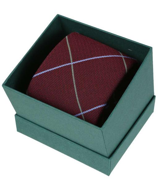 Men's Laksen Tweety Silk Tie - Grape