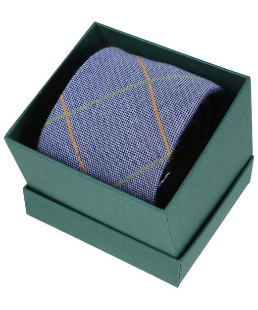 Men's Laksen Tweety Silk Tie - Cornflower