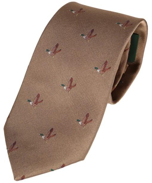 Men's Laksen Duck Tie - Camel