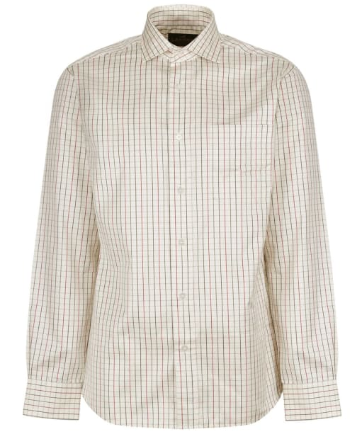 Men's Laksen Archie Shirt - Red / Navy / Green