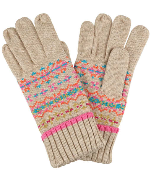 Women's Joules Christina Gloves - Fair Isle