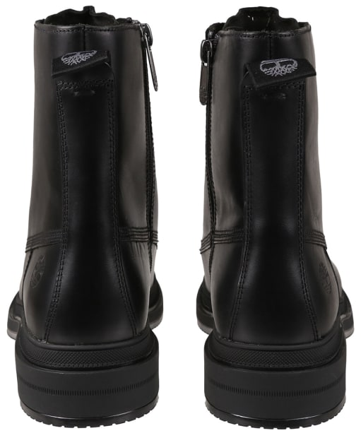 Women's Timberland Lisbon Lane Collarless Boots - Black Fullgrain