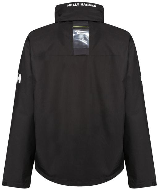 Men's Helly Hansen Crew Hooded Midlayer Jacket - Black