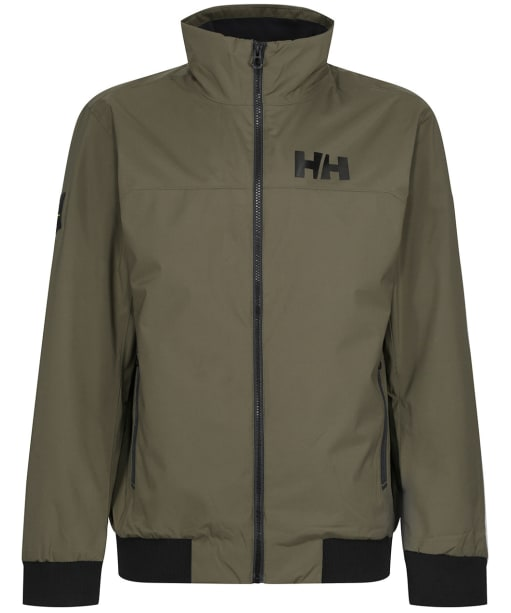 Men's Helly Hansen HP Racing Lifaloft Bomber Jacket - Utility Green