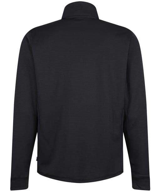 Men's Picture Bake Grid Fleece - Black