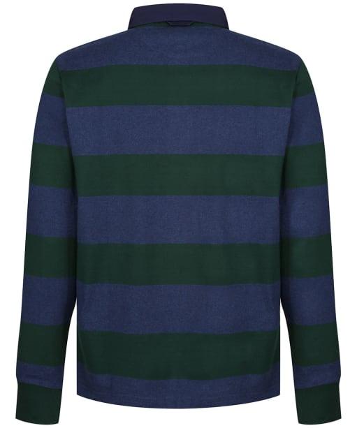 Men's GANT Original Barstripe Heavy Rugger Shirt - Tartan Green