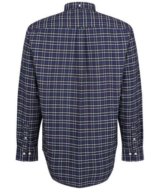 Men's GANT Beefy Oxford Check Shirt - College Blue