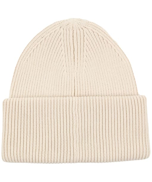 Men's GANT Retro Shield Beanie Hat - Cream