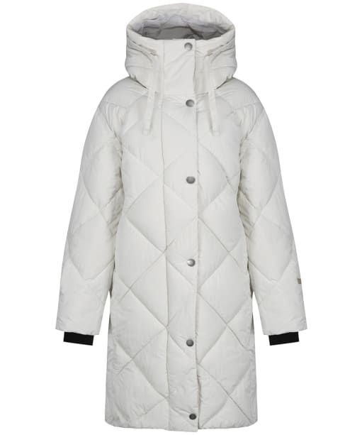 Women's Didriksons Torun Quilted Parka - Off White