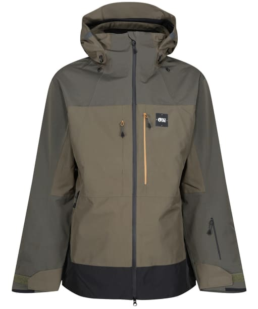 Men's Picture Track Jacket - Dusty Olive