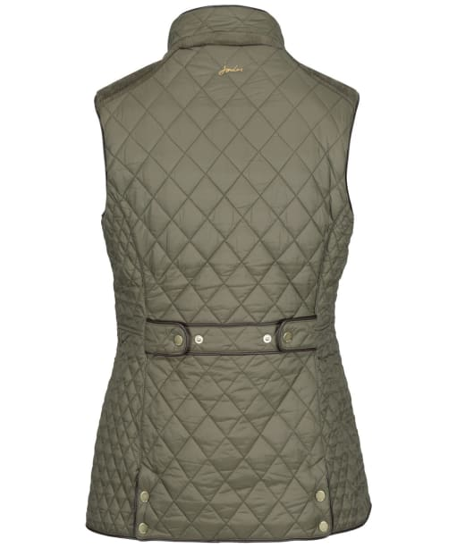 Women's Joules Frinton Quilted Gilet - Grape Leaf