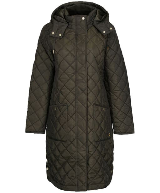 Women's Joules Chatham Quilted Coat - Heritage Green