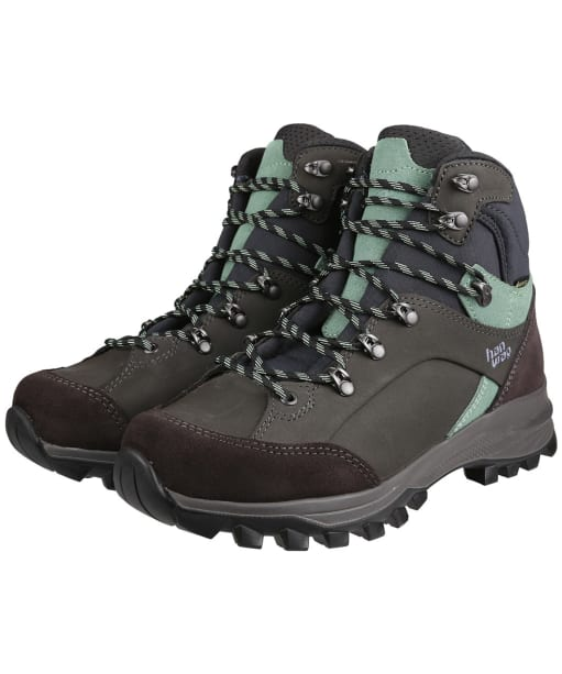 Women's Hanwag Alta Bunion II GTX Boots - Asphalt / Mint