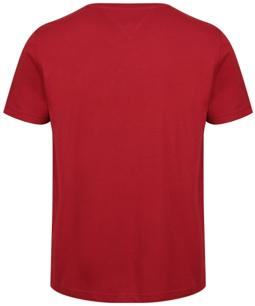 Men's Tommy Hilfiger Lines Logo T-Shirt - Regatta Red