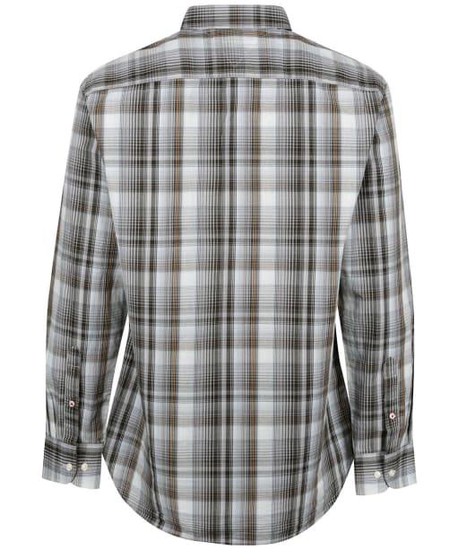 Men's Tommy Hilfiger Poplin Check Shirt - Iron Grey / Multi