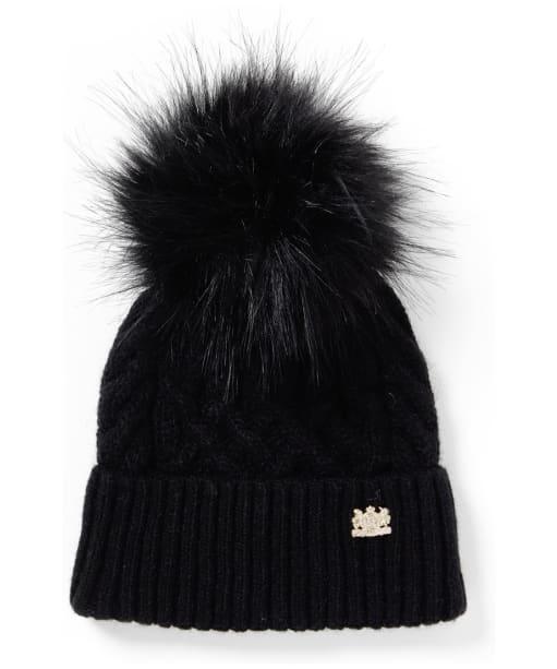 Women's Holland Cooper Windsor Bobble Hat - Black