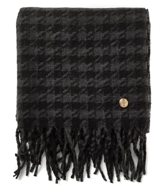 Women's Holland Cooper Chelsea Scarf - Grey Houndstooth
