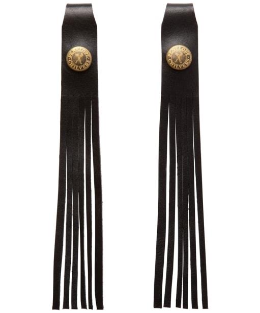 Women's Penelope Chilvers Simple Leather Tassels - Black