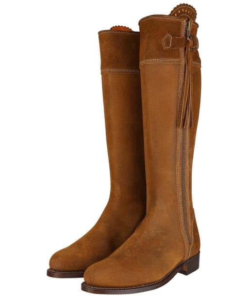 Women's Penelope Chilvers Long Riding Tassel Boots – Tan