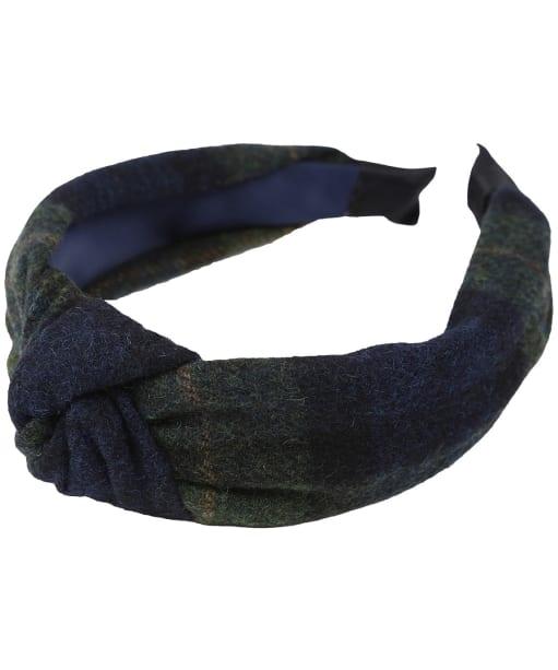 Women's Joules Nancy Tweed Headband - Navy / Green Check
