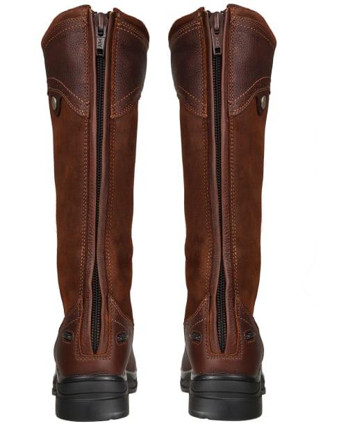 Women's Ariat Wythburn Tall Waterproof Boots - Dark Brown