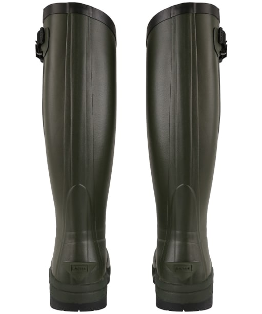 Hunter Unisex Balmoral Classic Side Adjustable Boots – Tall - Dark Olive
