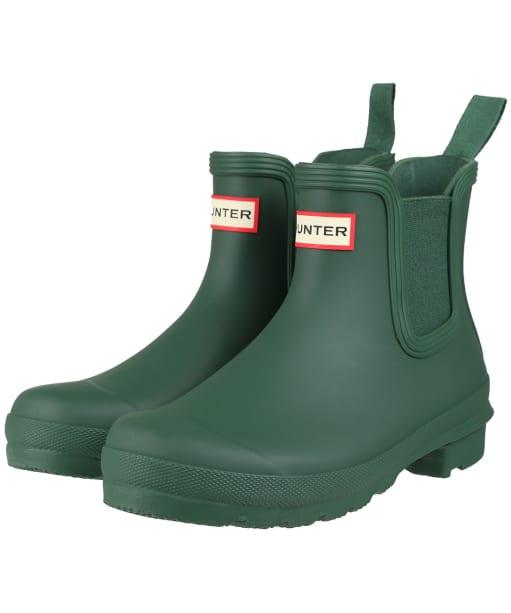 Women's Hunter Original Chelsea Boots - Hunter Green