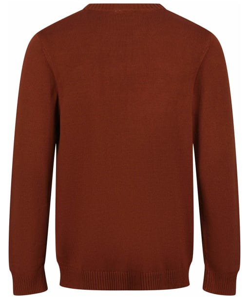 Men's Tentree Highline Cotton Crew Sweater - Cherry Mahogany
