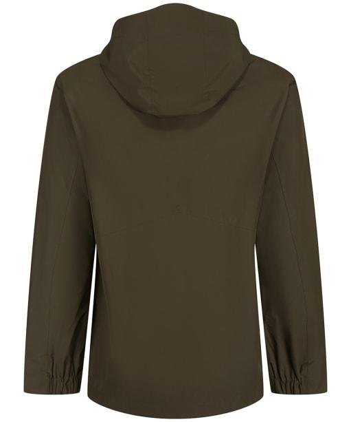 Men's Tentree Nimbus Rain Jacket - Black Olive Green