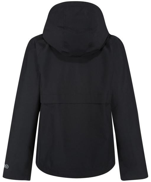Women's Tentree Nimbus Short Rain Jacket - Jet Black