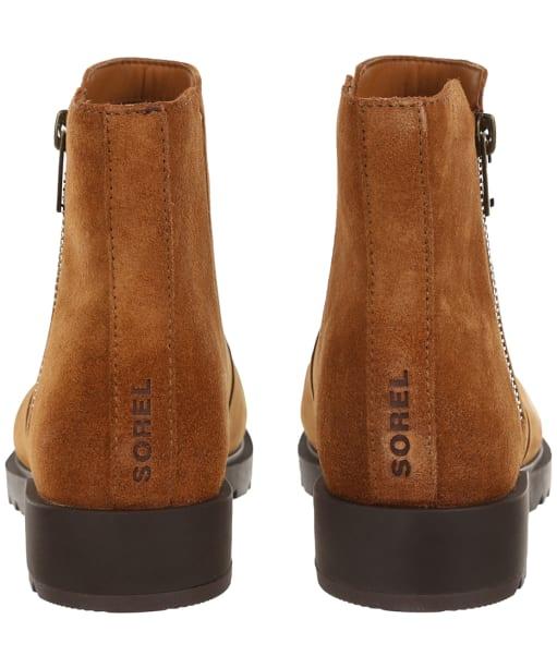 Women's Sorel Emilie II Zip Waterproof Boots - Taffy Leather