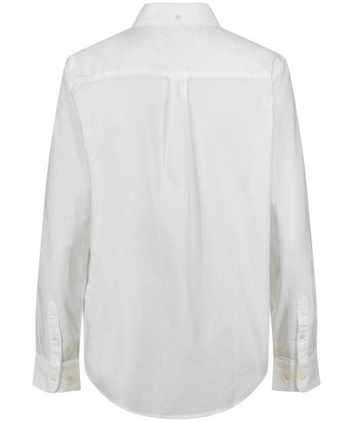 Women's GANT Regular Oxford Shirt - White