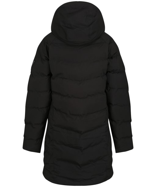 Women's Musto Marina Long Quilted Jacket - Black