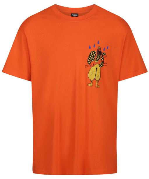 Men's Filson S/S Ranger Graphic T-Shirt - Blaze / Lumberjack