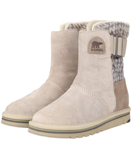 Women's Sorel Newbie Boots - Silver / Sage
