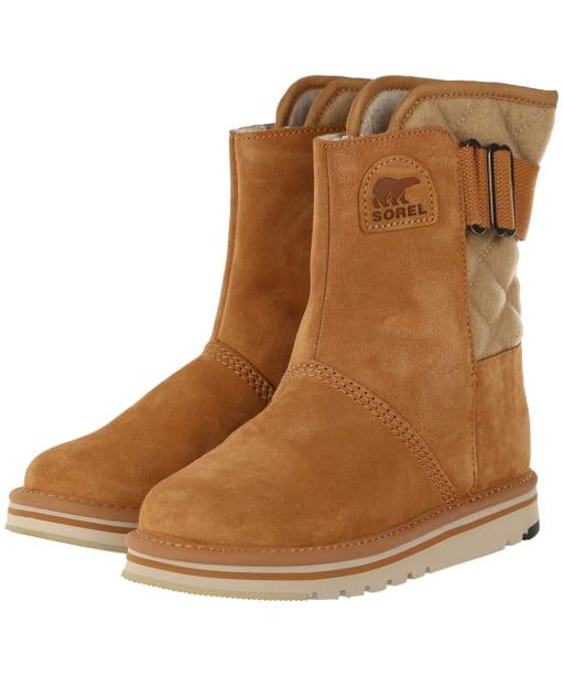 Women's Sorel Newbie Boots - Elk / British Tan
